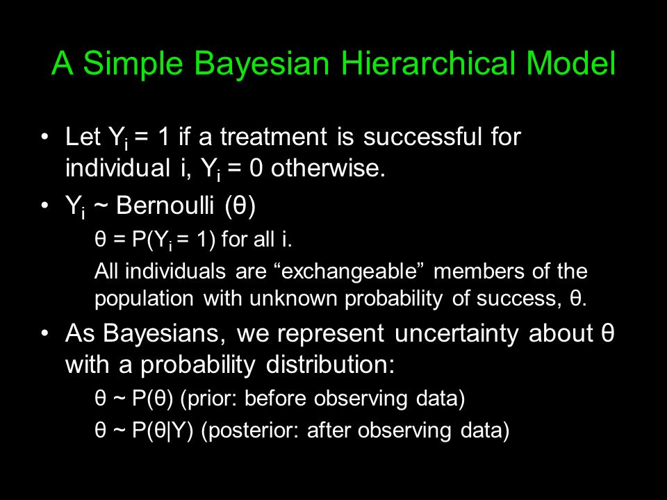 A Simple Bayesian Hierarchical Model