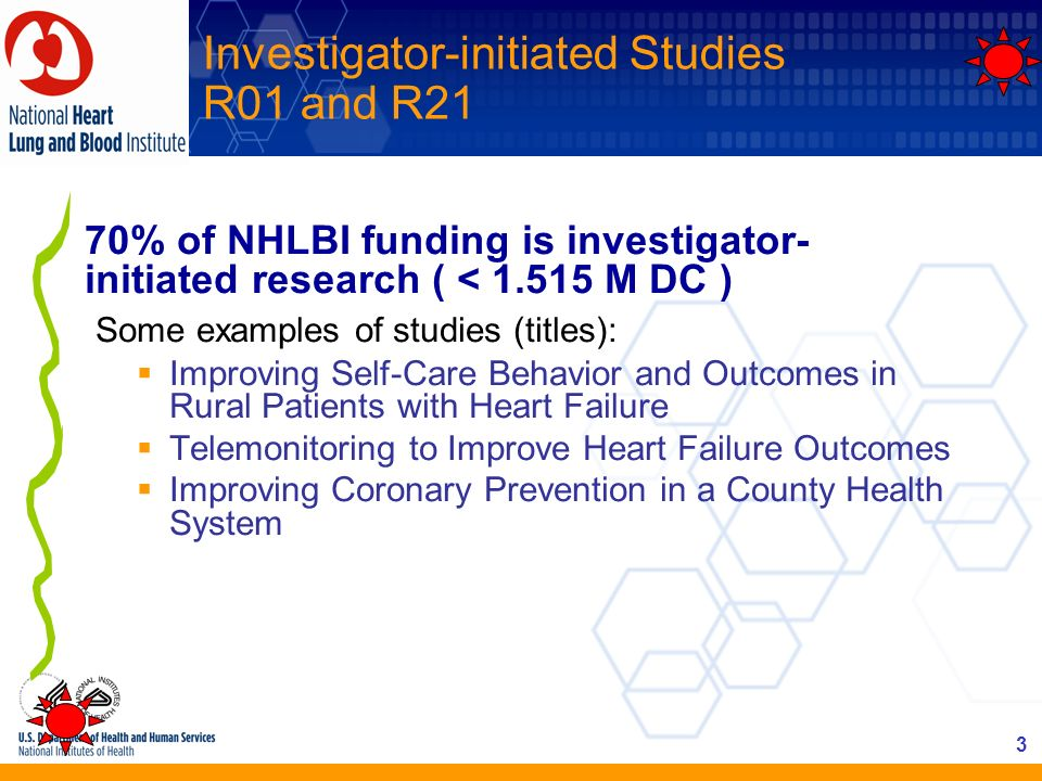 Investigator-initiated Studies R01 and R21