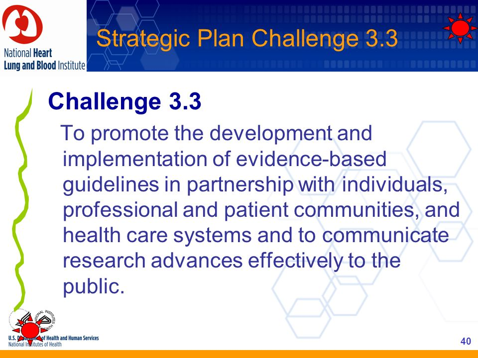 Strategic Plan Challenge 3.3