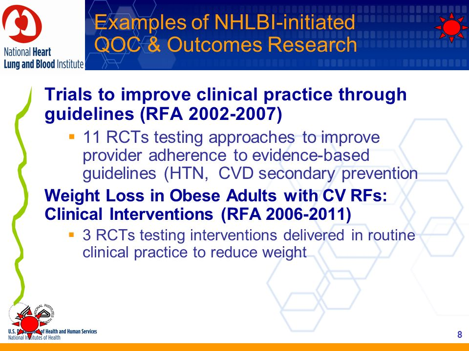 Examples of NHLBI-initiated QOC & Outcomes Research