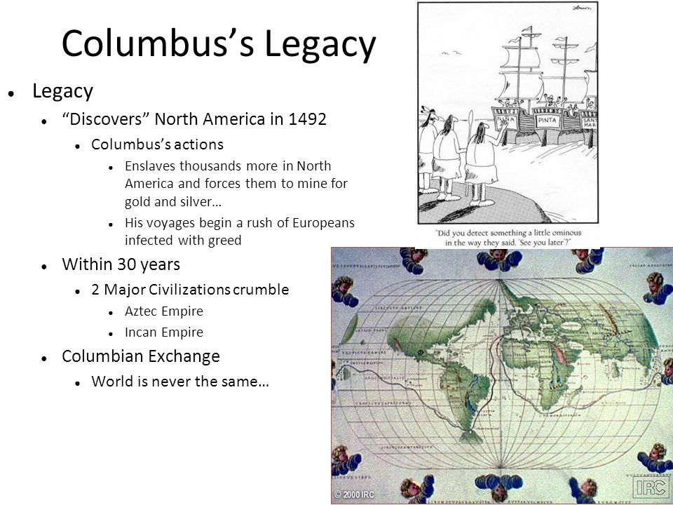 an analysis of the conquest of native america in the columbian voyages the columbian exchange and th Horticulture played a crucial role in many native american cultures and christopher columbus's voyages the columbian exchange affected conquest of the.