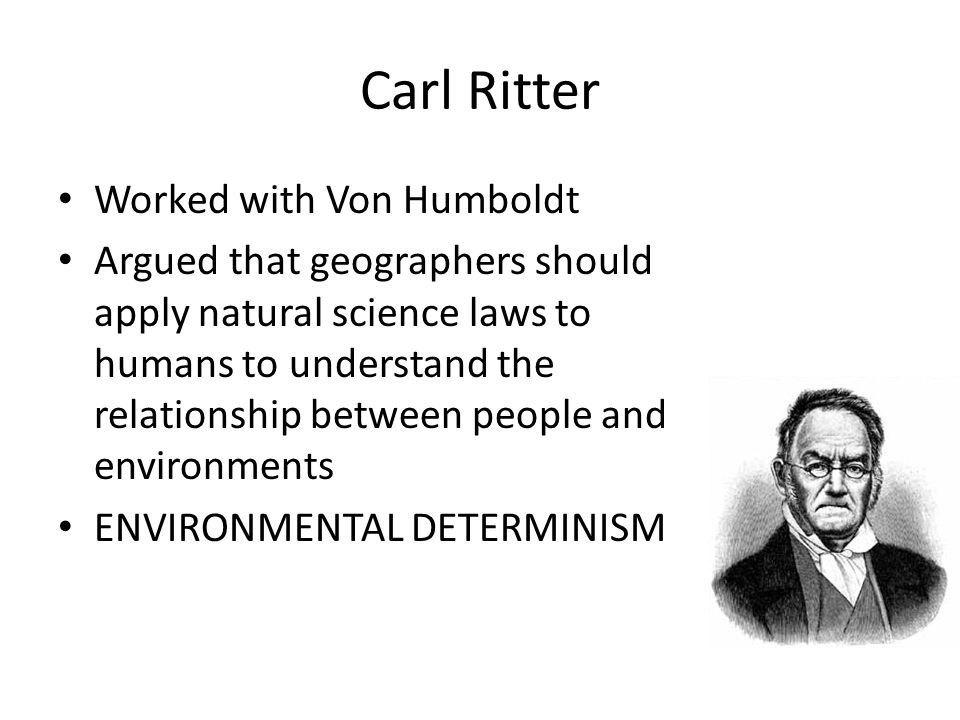 man and environment relationship determinism in literature