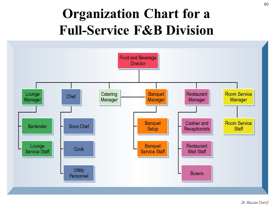 food & beverage division organization chart essay Stock chart historical  positions in store and district management,  leadership positions in the fry's food stores division, including store.