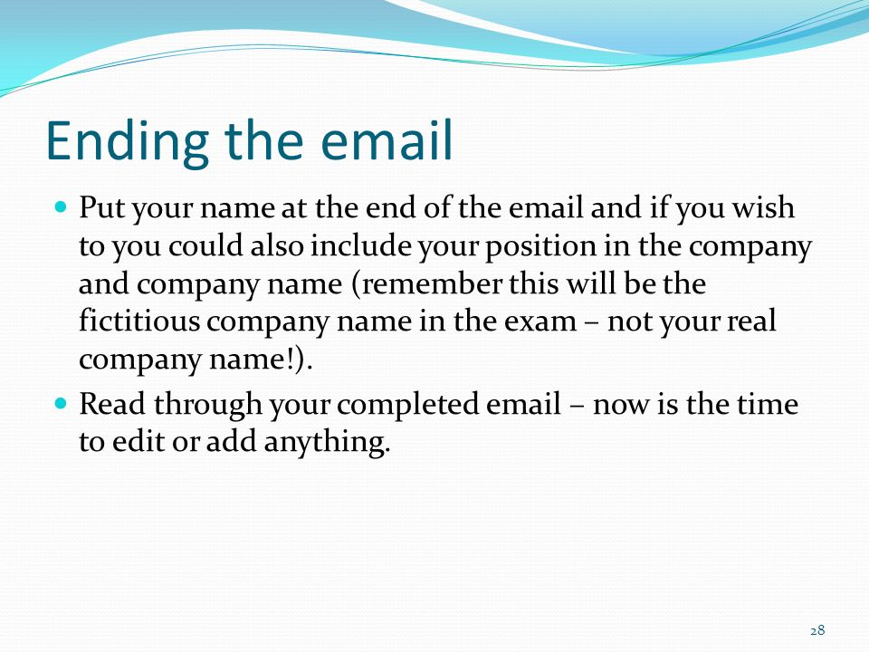 The strategic case study ppt video online download ending the email ccuart Image collections
