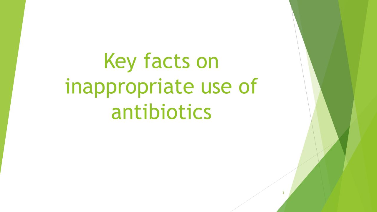 rational use of antibiotics in pediatrics