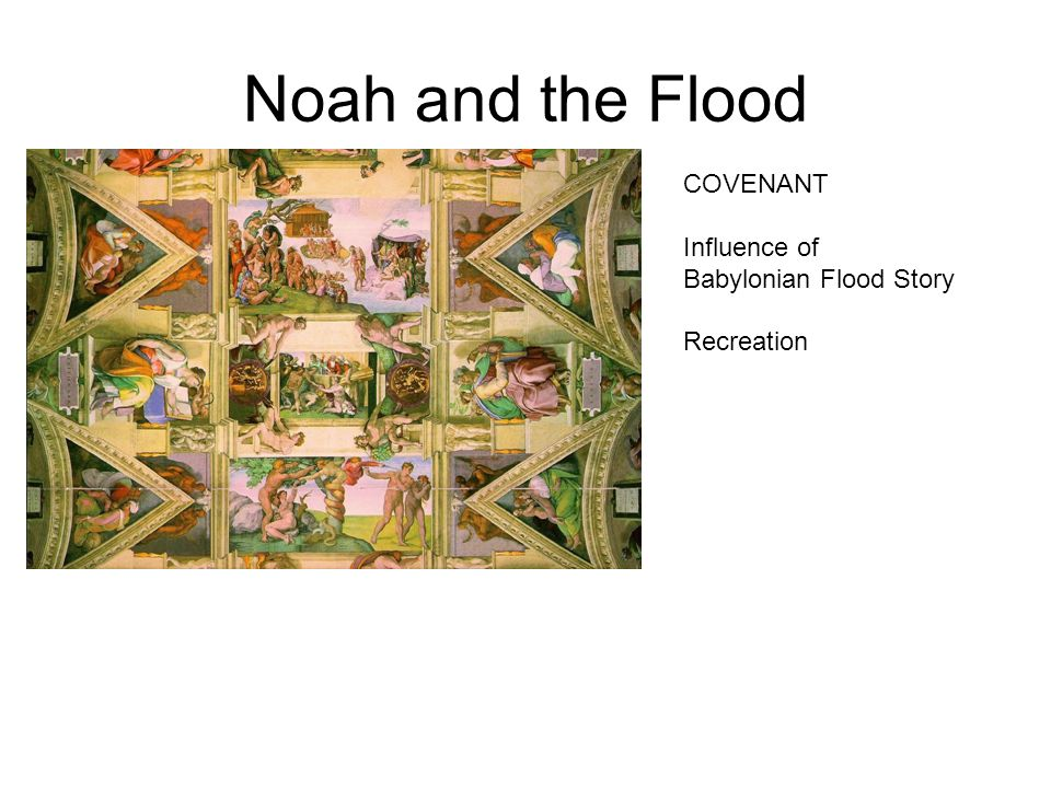 an analysis of the influence of the story of noah and the flood The influence of mesopotamia on abraham and noah and the flood story from the epic documents similar to the influence of mesopotamia on abraham and his.