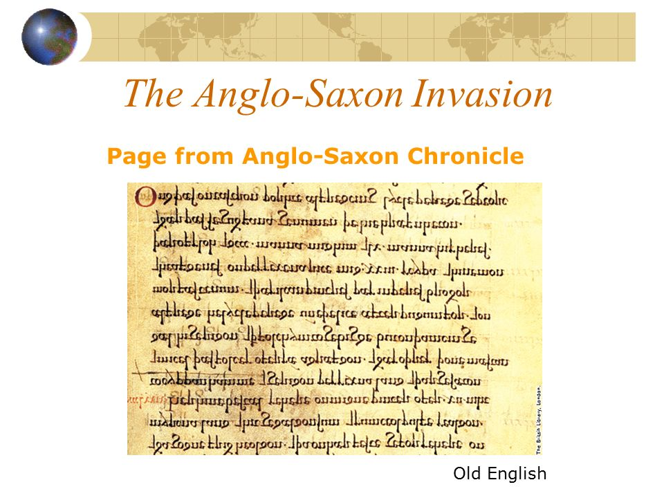 old english anglo saxon period brief Here you will find a general overview of the old english period other old english pages cover major authors and style and prosody reference works: lapidge, michael et al the blackwell encyclopedia of anglo-saxon england ( brief articles on everything relevant) greenfield, stanley and daniel calder a new critical.