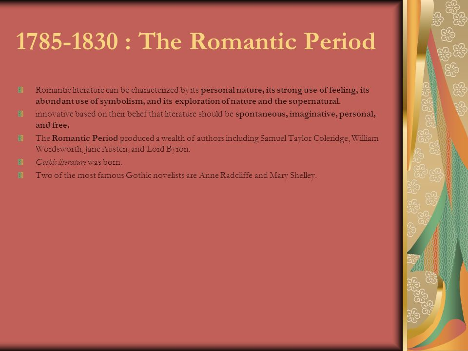 romanticism in literature and poetry and its effects on the contemporary society Neoclassicism and romanticism  even the shock effects which exposed the depths and abysses of the human soul,  contemporary society,.