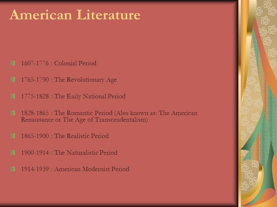 an analysis of the american romantic period and transcendentalism During the american romantic movement, the short story emerged as a particularly well-suited american form of writing, celebrating the freedom of individuals, the rise of the common man after industrialization, and expressions of hope and promise, in a compact story, rather than a lengthy, laborious novel.