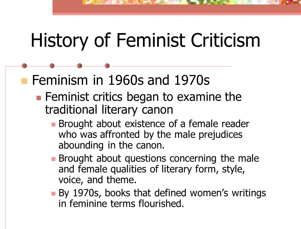 a feminist criticism of proof Implicitly1 to the scriptures is taken as obvious evidence that he perceived  despite such critique, feminist theorists such as amy allen have significantly drawn.