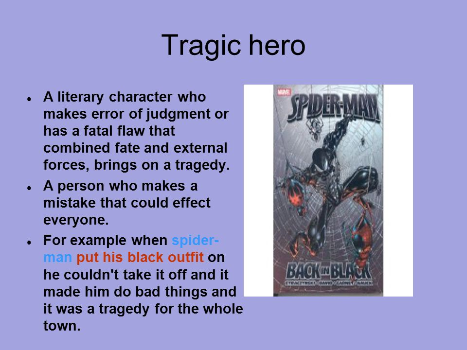 Tragic flaw definition literary term