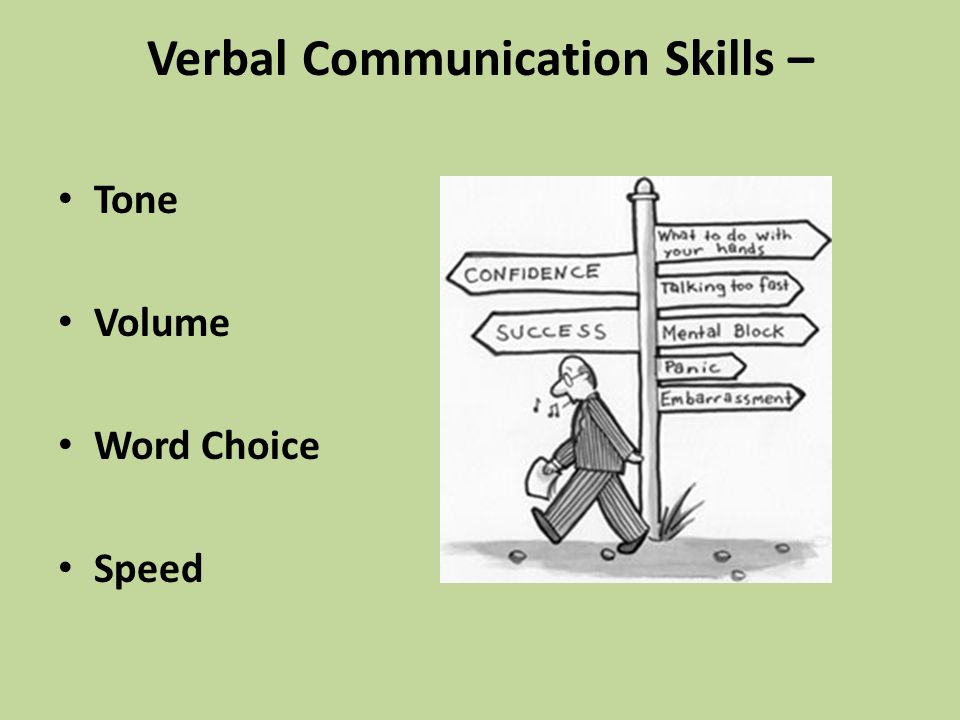 What are verbal skills and why are they important?