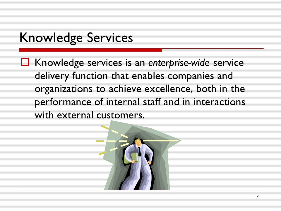 Knowledge Services