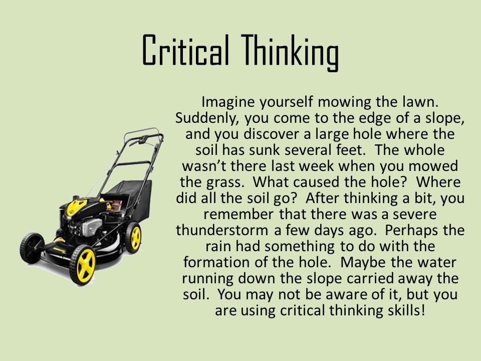 critical thinking skills ppt download