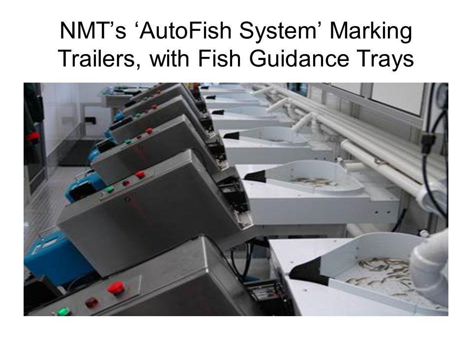 NMT's 'AutoFish System' Marking Trailers, with Fish Guidance Trays