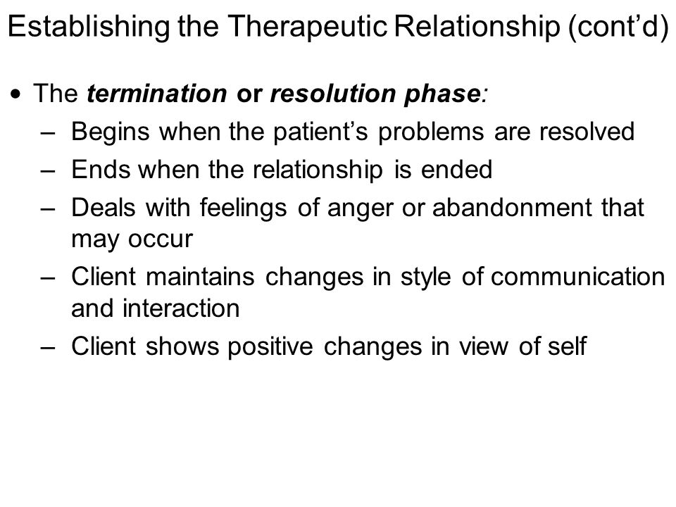 boundaries massage therapist client relationship and termination