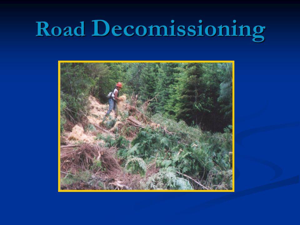Road Decomissioning