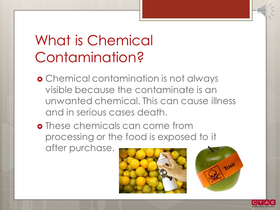 What is Chemical Contamination
