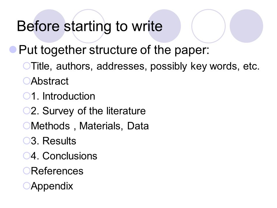 structure of writting a research paper Writing a good history paper history department hamilton college ©trustees of hamilton college, 2008 acknowledgements this booklet bears one name, but it.