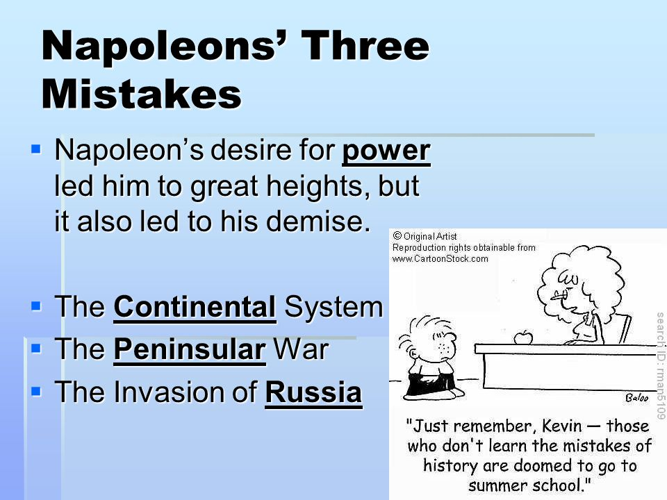 napoleon and the continental system after Russia's commitment to napoleon's continental system was a mere lip-service differences between france and russia over influence in poland and the balkans.