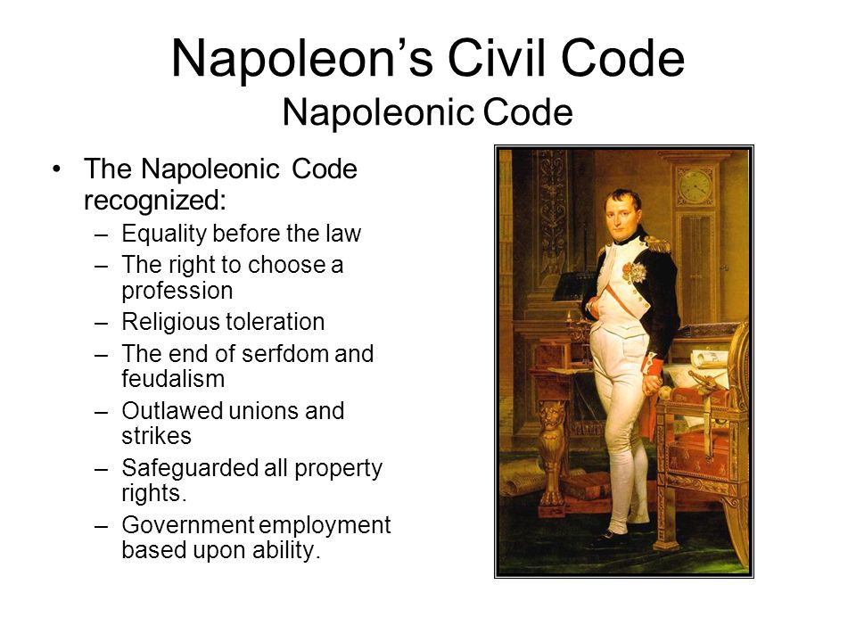 Napoleon Forges An Empire Ppt Download