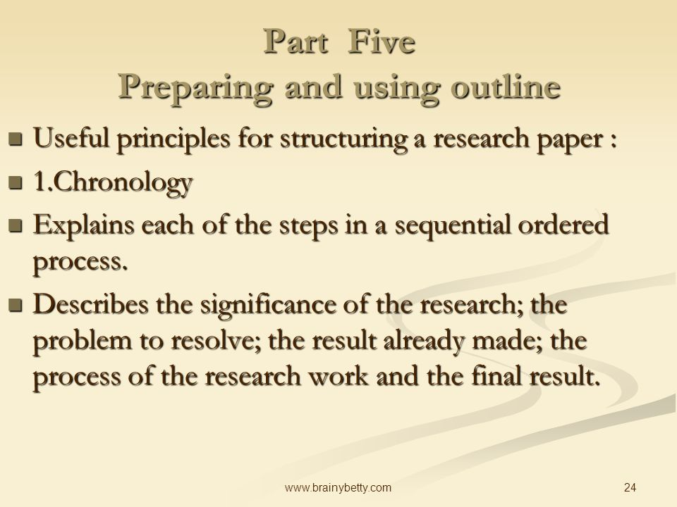which aspect of the process of researching and writing a research paper protects Writing@csu writing guide informative speaking if you take the time to thoroughly research and understand discuss the process of researching your topic and.