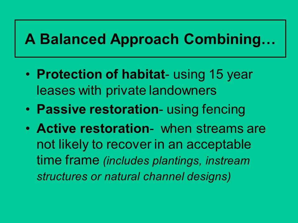 A Balanced Approach Combining…