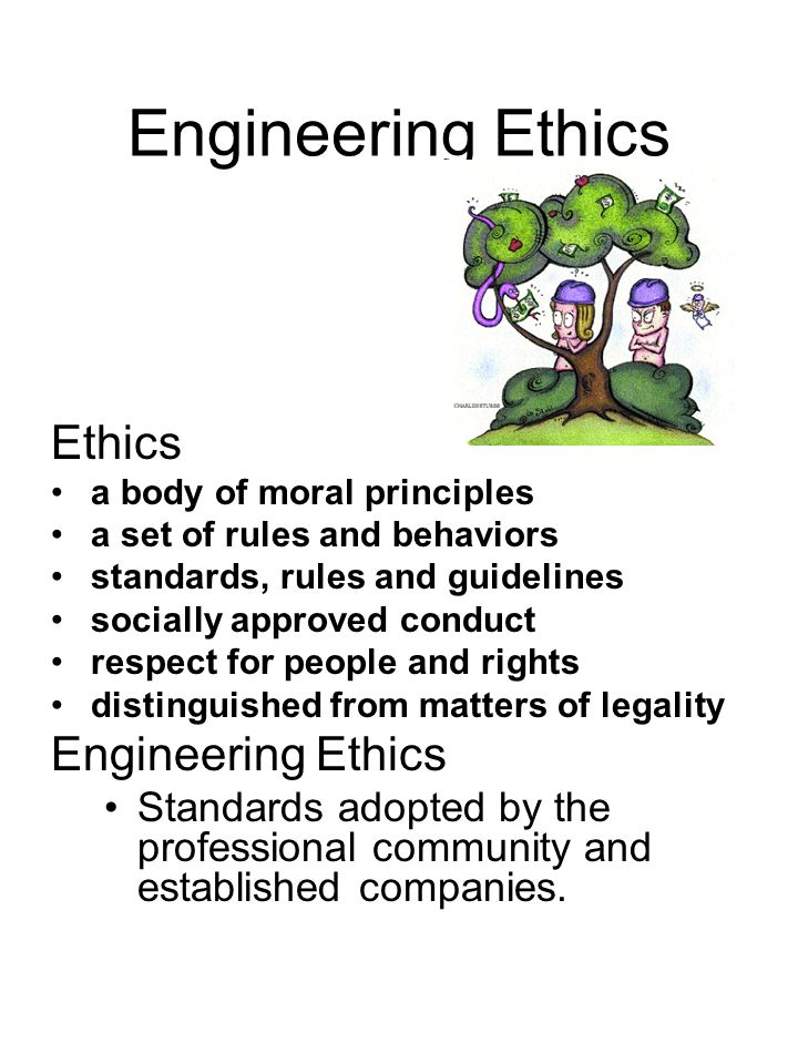 essay on ethics and engineering Technical report: engineering code of ethics there are many different factors and aspects in the division of engineering and one of the most important factors to know in this field is the engineering code of ethics.