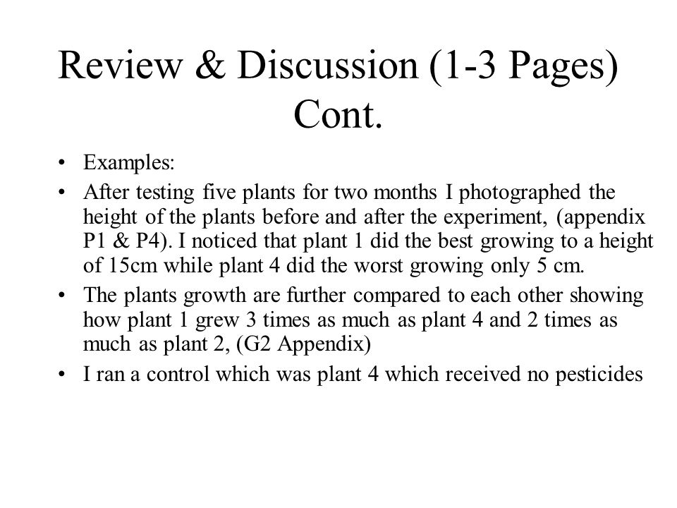 Research Paper Discussion