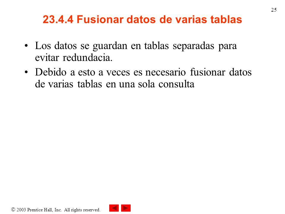 23.4.4 Fusionar datos de varias tablas