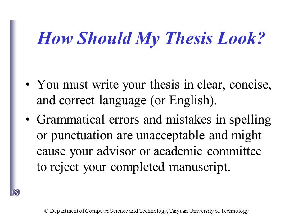 write clear concise thesis This handout describes what a thesis statement is, how thesis statements work in your writing, and how you can discover or refine one for your draft.