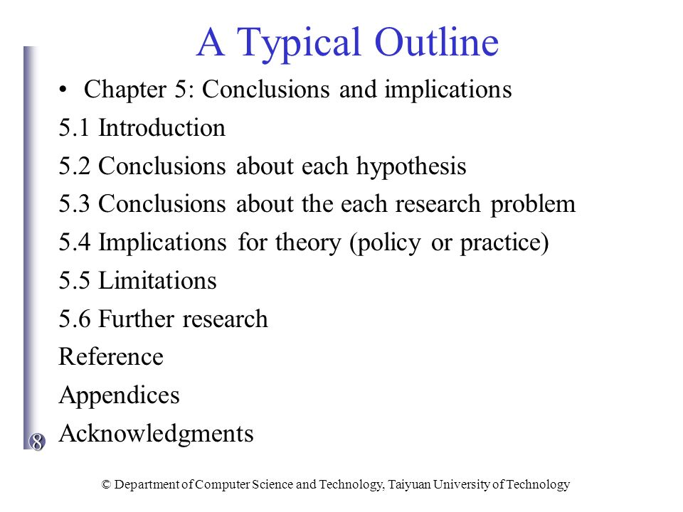 """implications chapter dissertation Theoretical framework in dissertation with an organized flow from one chapter to framework """"has implications for every decision."""