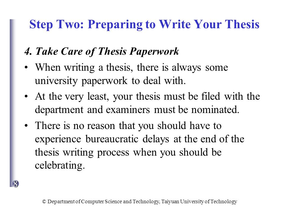 assistance in writing methodology section of a thesis