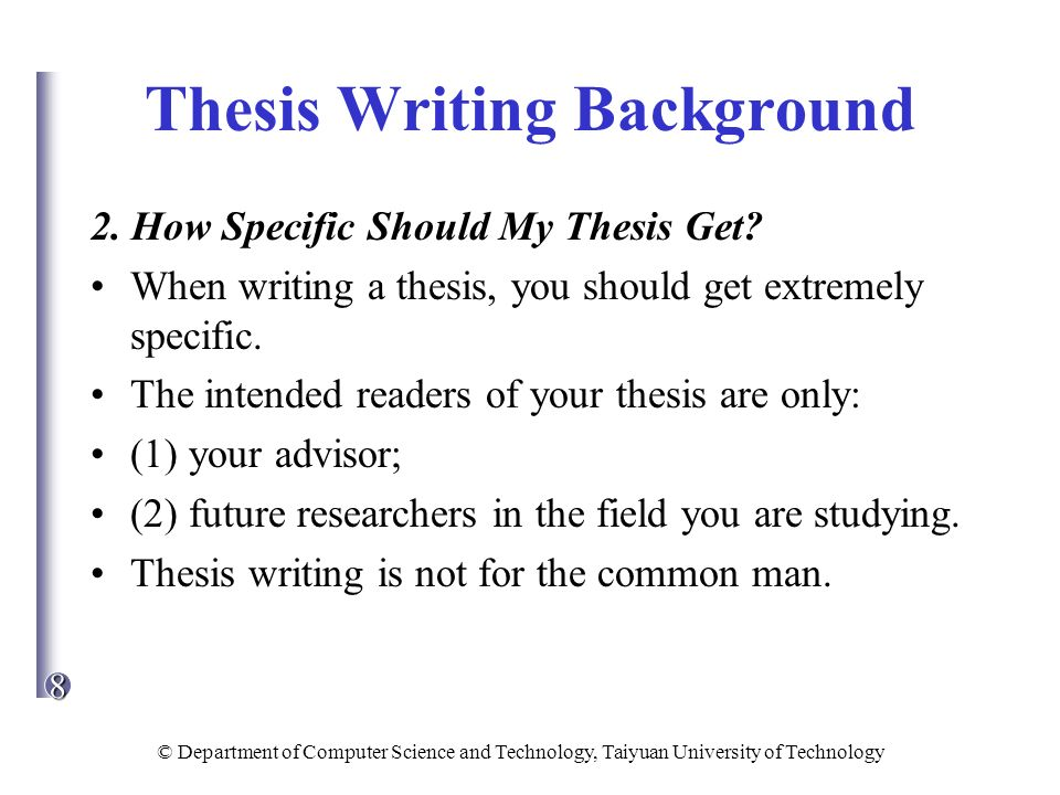 thesis writing prompts
