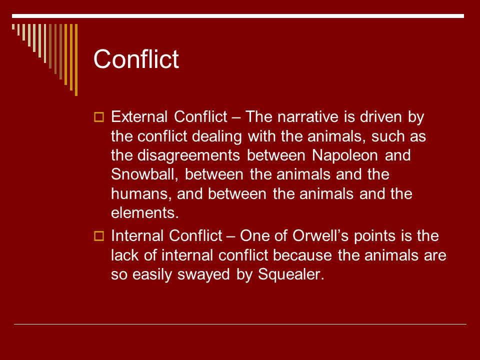 the leaders and followers in the novel animal farm by george orwell Animal farm: character profiles  only the leaders and the die-hard followers ate their fill during this time period mr  animal farm orwell george.