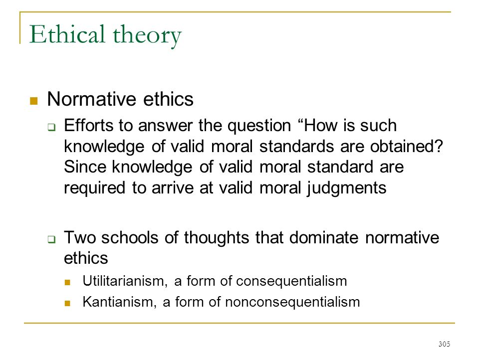 normative ethics and the right to Utilitarianism is one of the most powerful and persuasive approaches to normative ethics in the history of philosophy that gives it the right normative force.