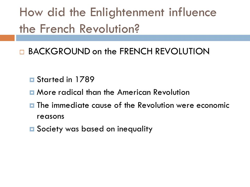 How Did The French Revolution Differ From The American Revolution