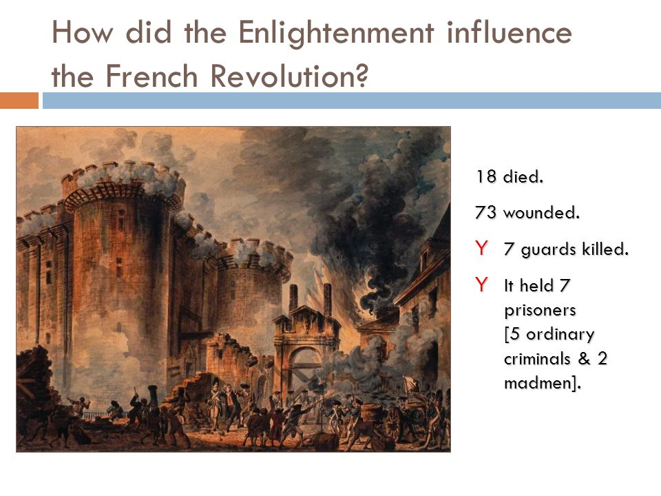 The influence of the french revolution on french romanticism