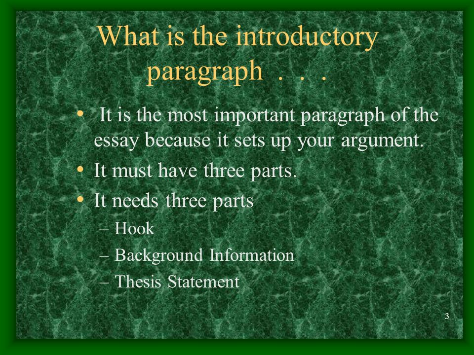 does a thesis statement have to have three parts What are the parts of a thesis we have project and it is  three part thesis statement with  does anyone have any sources/evidence i could.
