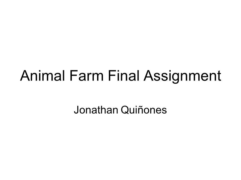 animal farm pov essay