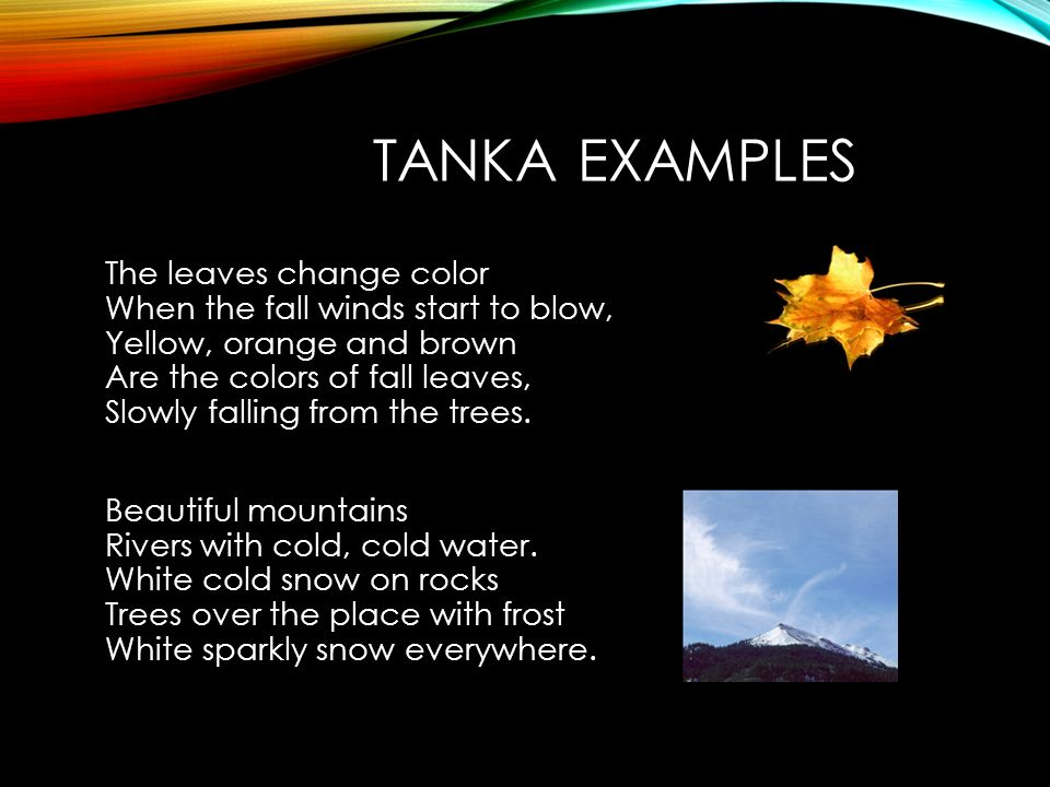 Poetry book requirements ppt video online download for Tanka poem template