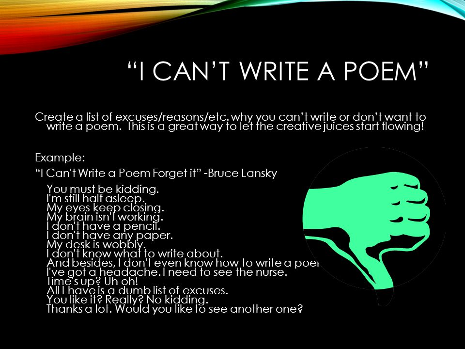 how to start writing poetry A list of ways to make money writing poetry and publishing poems include details on: greeting cards, teaching, writing poems for money, and more.