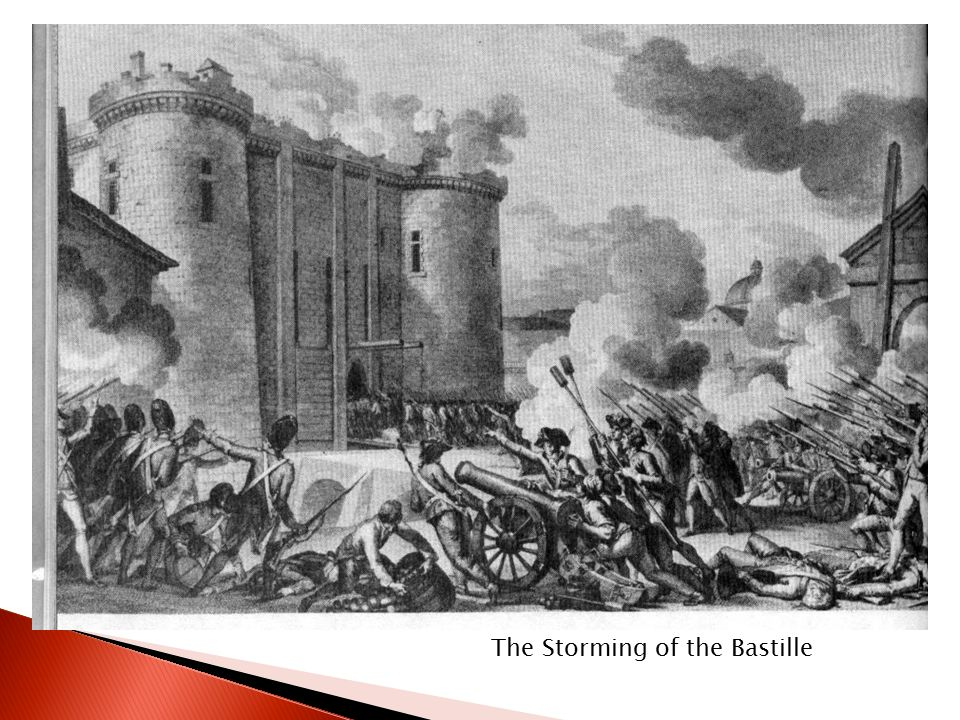 The storming of bastille essay