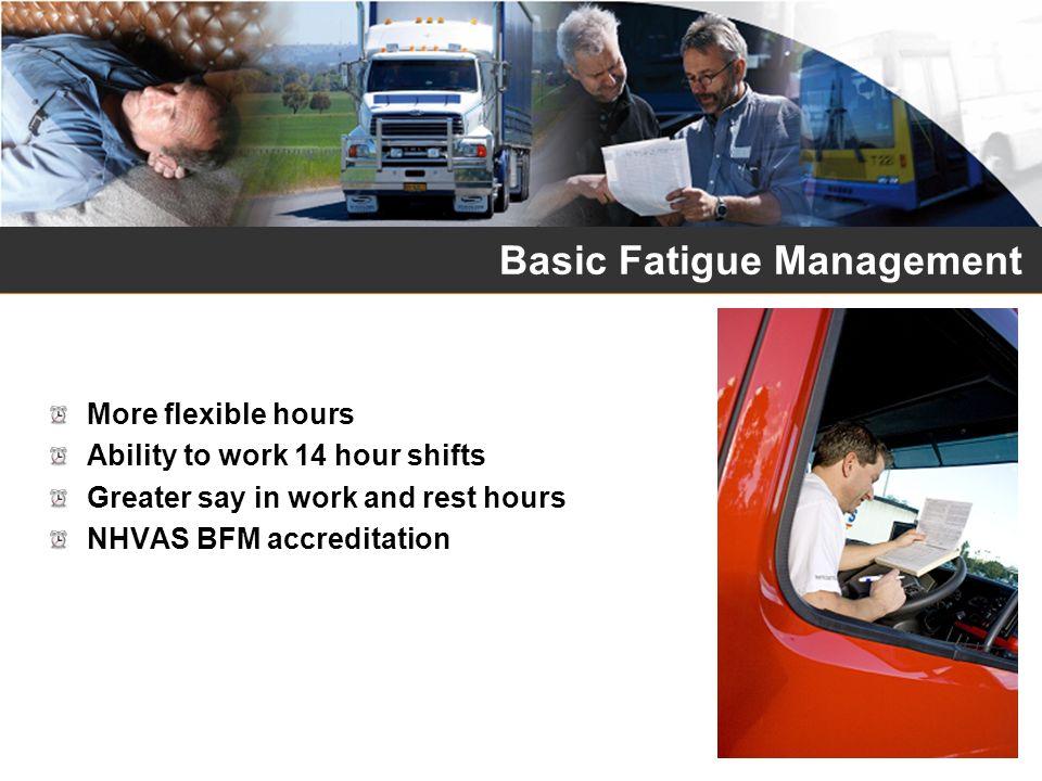 Basic Fatigue Management