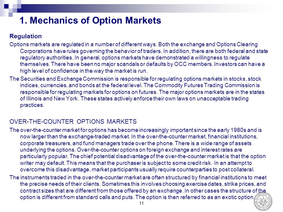 Options trading mechanics