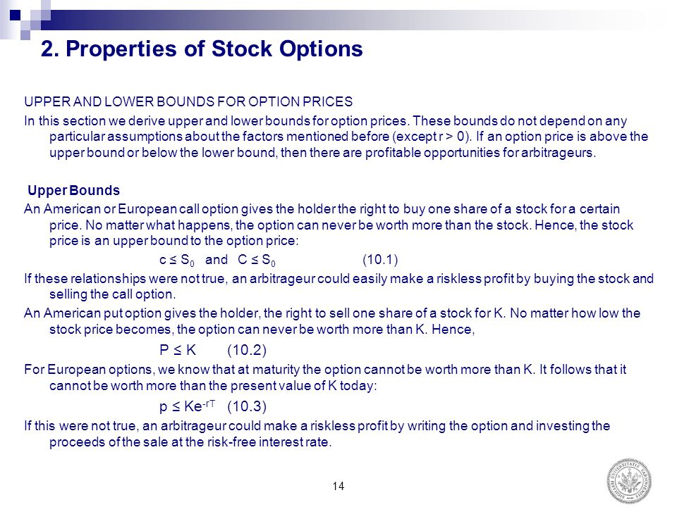 Stock options put sale