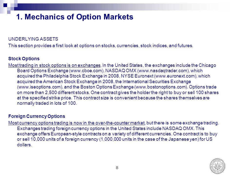 European stock options