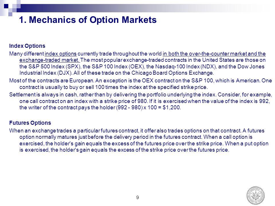 Trading djx options