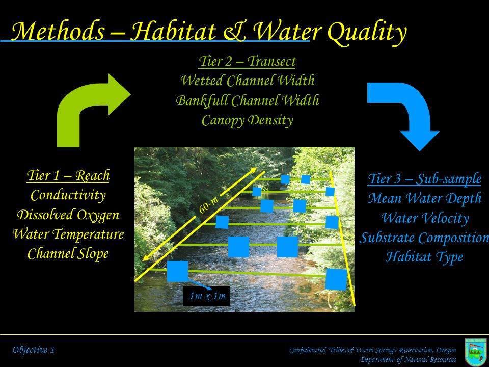Methods – Habitat & Water Quality
