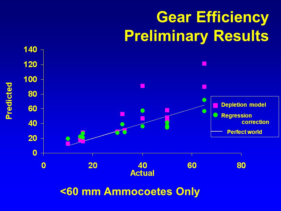 <60 mm Ammocoetes Only